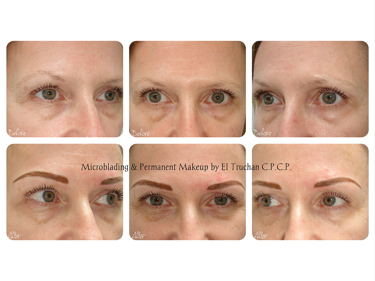 Semi Permanent Makeup Eyebrows