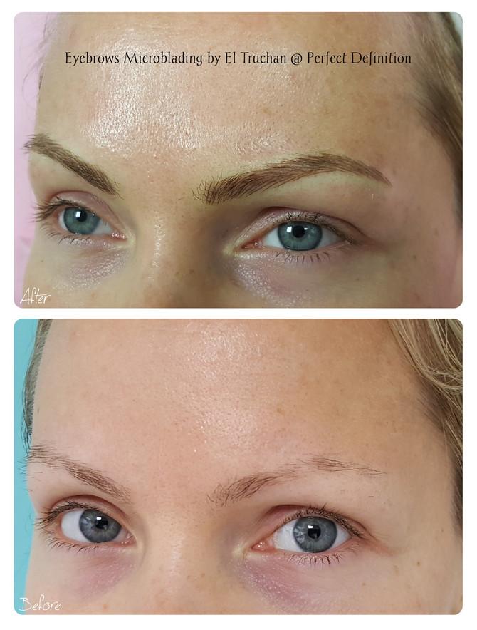 Eyebrows Microblading by El Truchan @ Perfect Definition