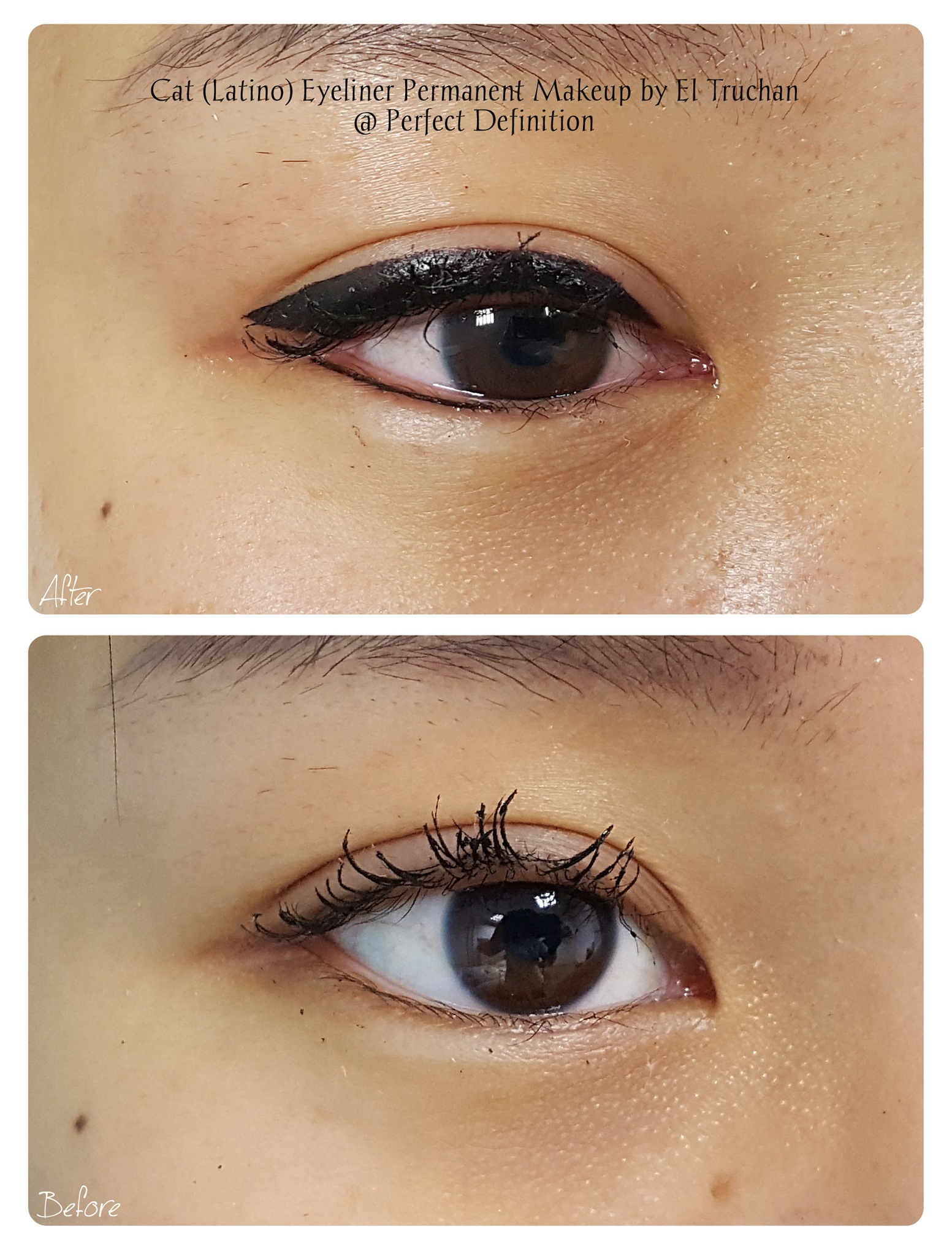 Cat (Latino) Eyeliner Permanent Makeup b