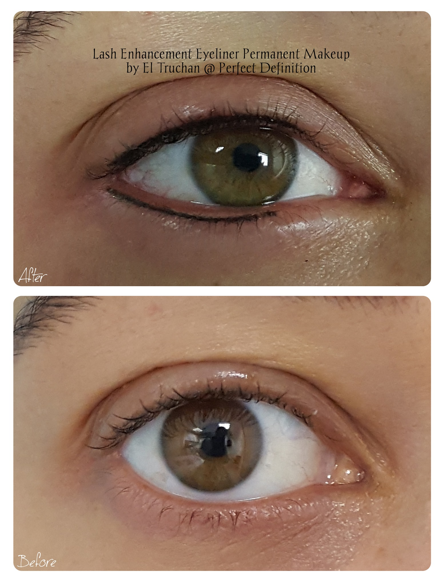 Lash Enhancement Eyeliner Permanent Make