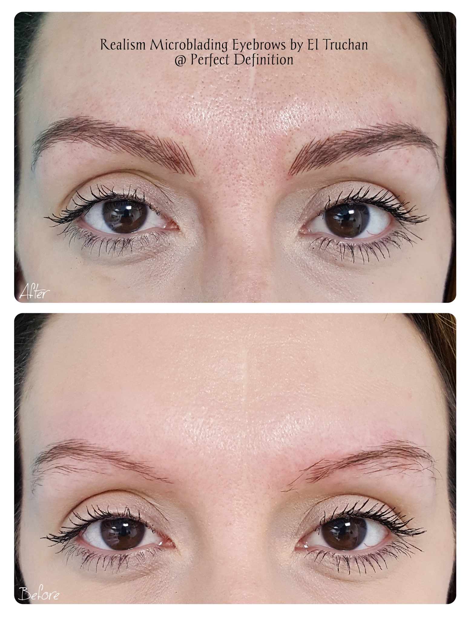 Realism Microblading Eyebrows by El Truc