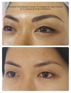 Eyebrows Microblading Density Restoratio