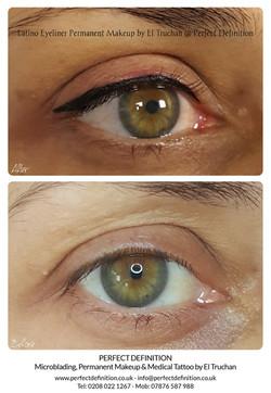 Latino Eyeliner Permanent Makeup by El T