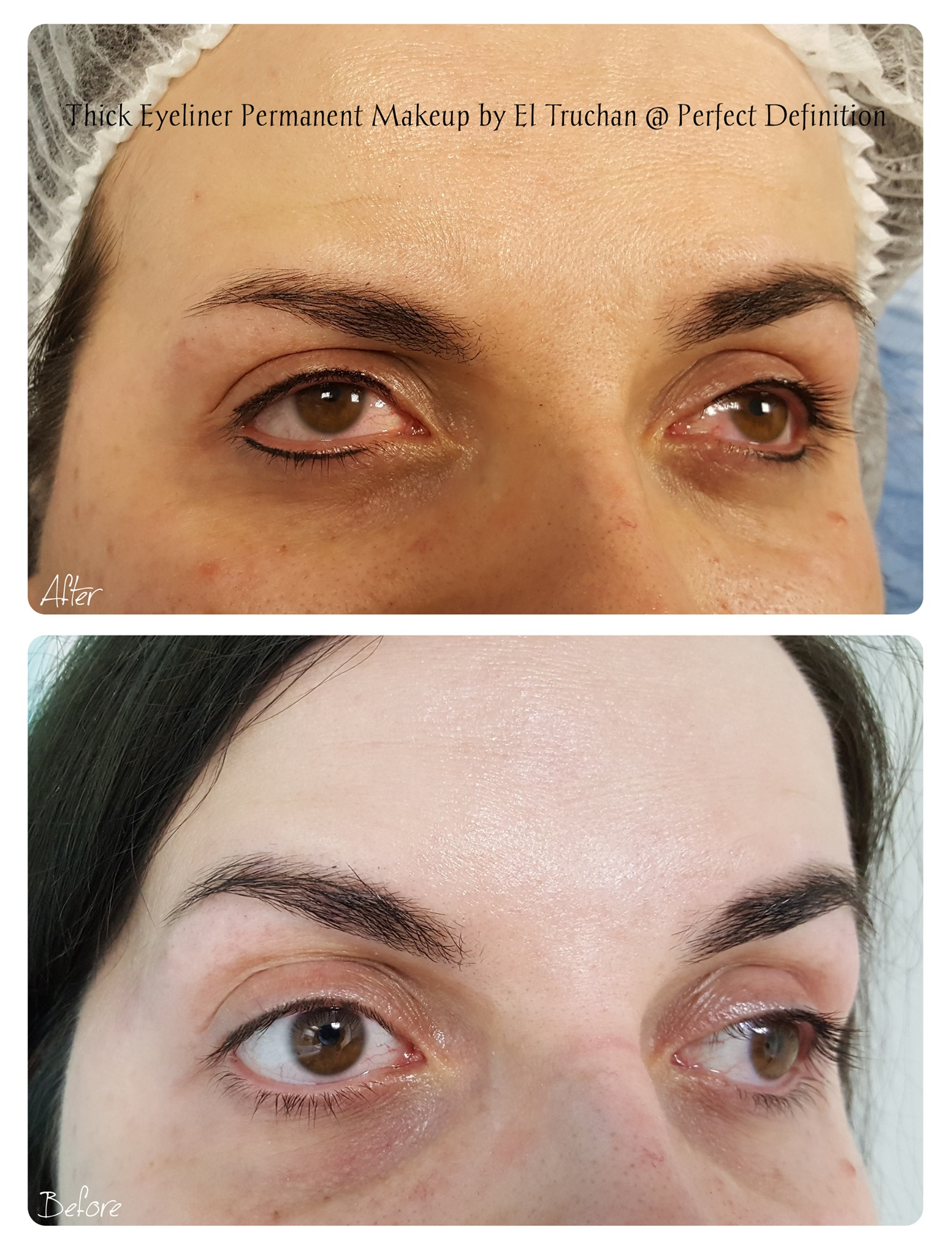 Thick Eyeliner Permanent Makeup by El Tr
