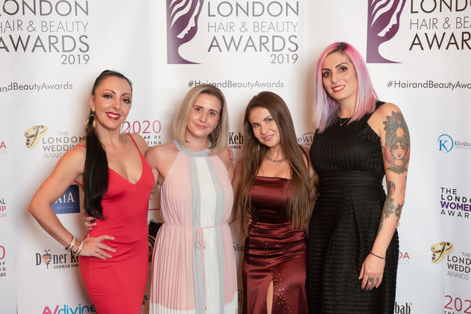 More pictures from the London Hair & Beauty Awards