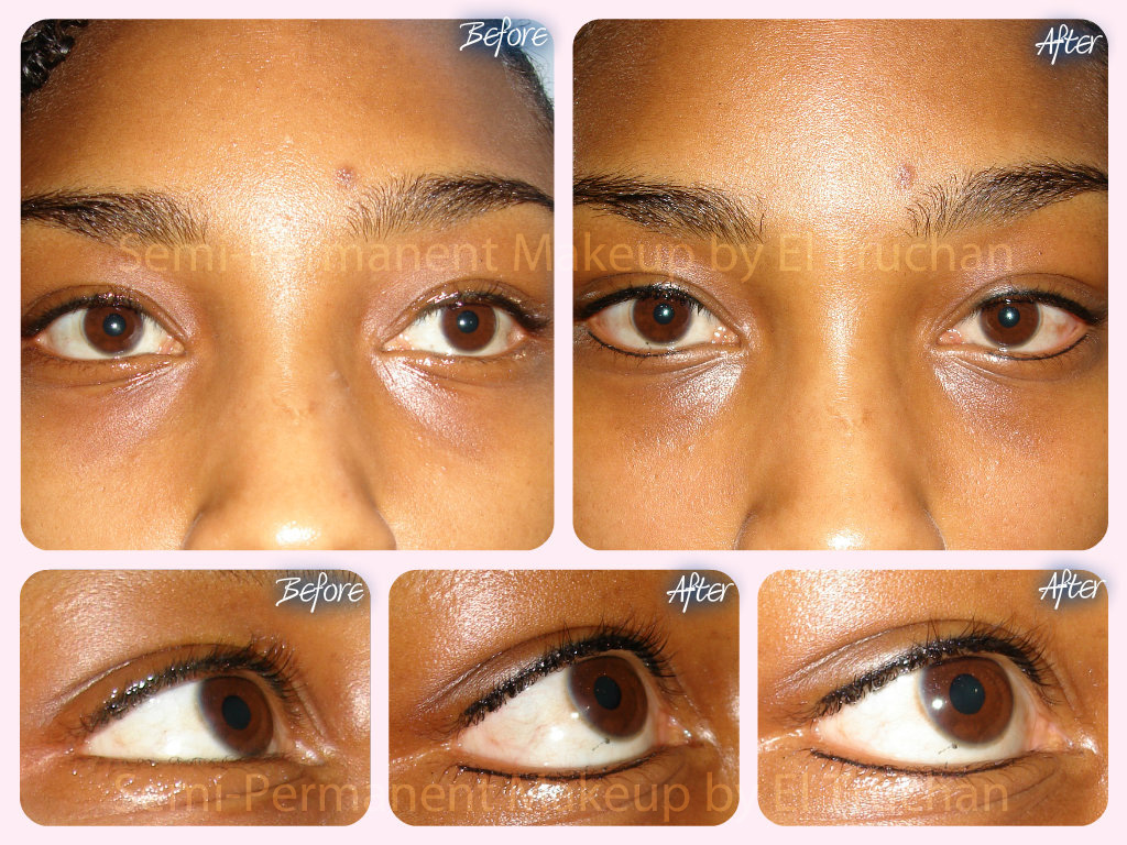 Lash Enhancement - Natural Eyeliner
