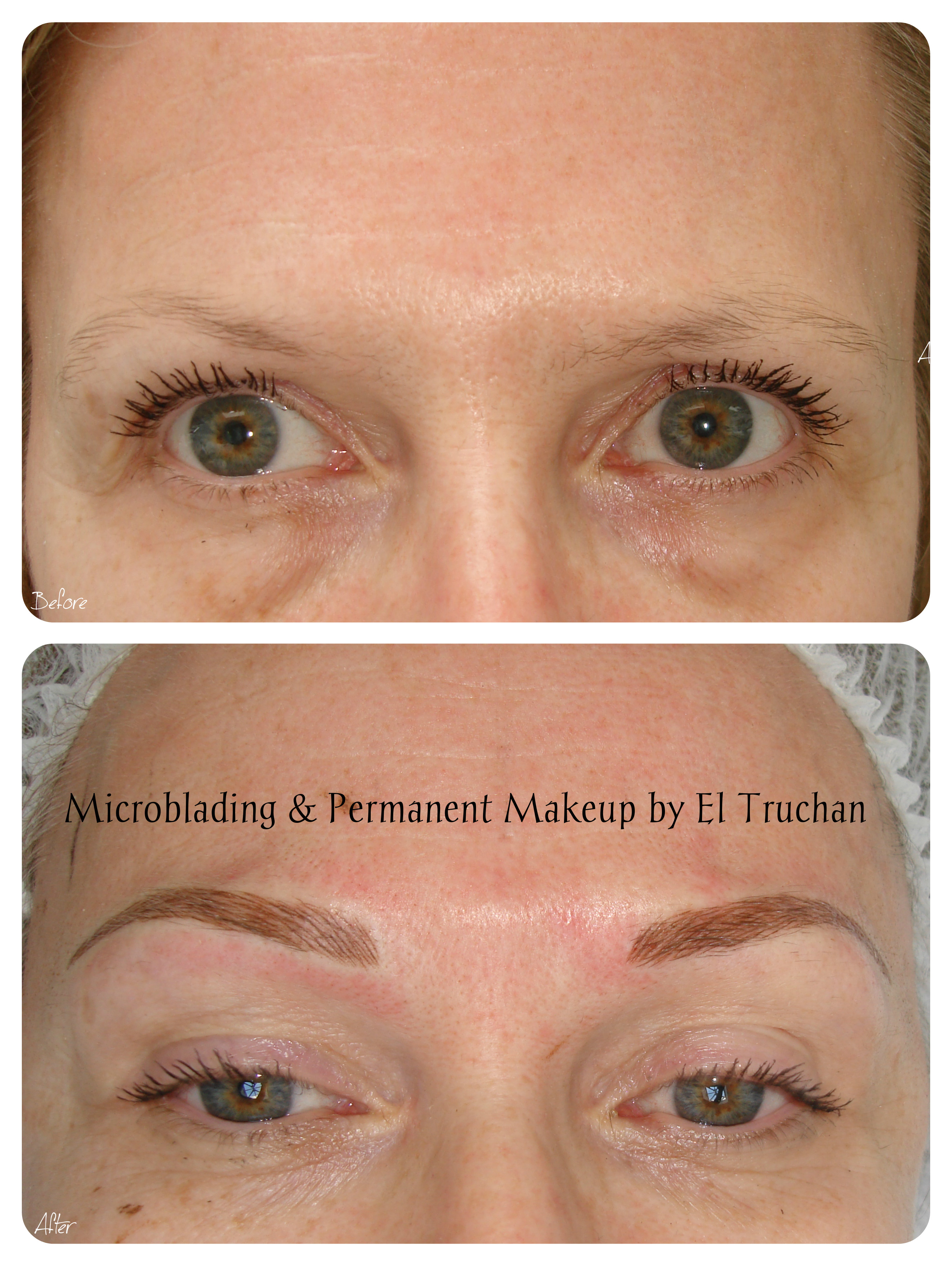 PMU & Microblading Eyebrows by El Truchan