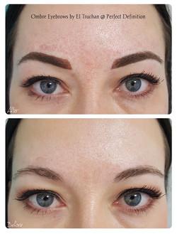Ombre Eyebrows by El Truchan _ Perfect D
