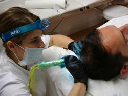scalp micropigmentation hair simulation Tattooing by El Truchan Medical Tatttooist