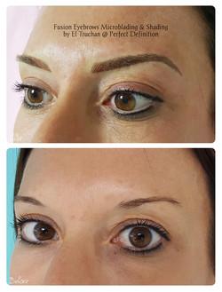 Fusion Eyebrows Microblading & Shading b