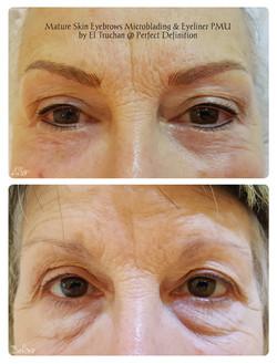 Mature Skin Eyebrows Microblading & Eyel