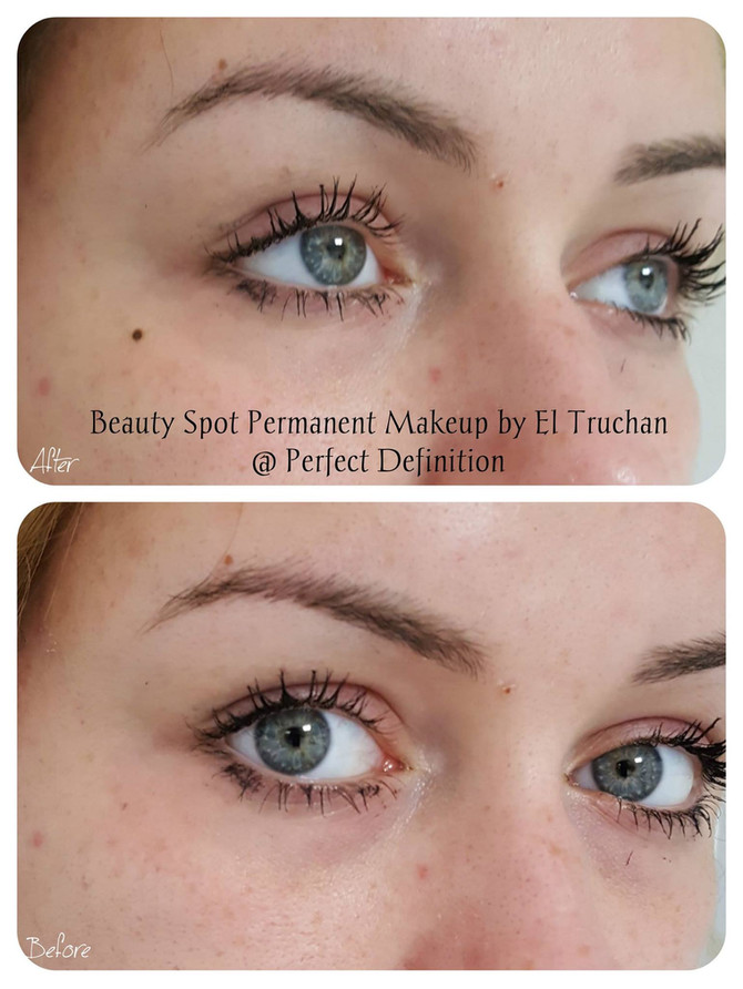 Beauty Spot Permanent Makeup: Before - After