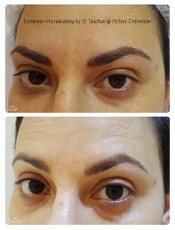 Eyebrows Microblading by El Truchan @ Pe