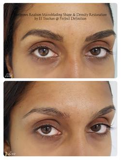 Eyebrows Realism Microblading Shape & De