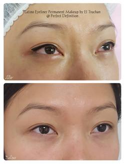 Latino Oriental Eyeliner
