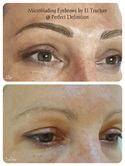 Microbladed Eyebrows by El Truchan in London _ Perfect Definition Canary Wharf 12