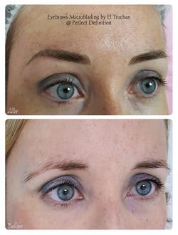Microblading Eyebrows Shape Correction