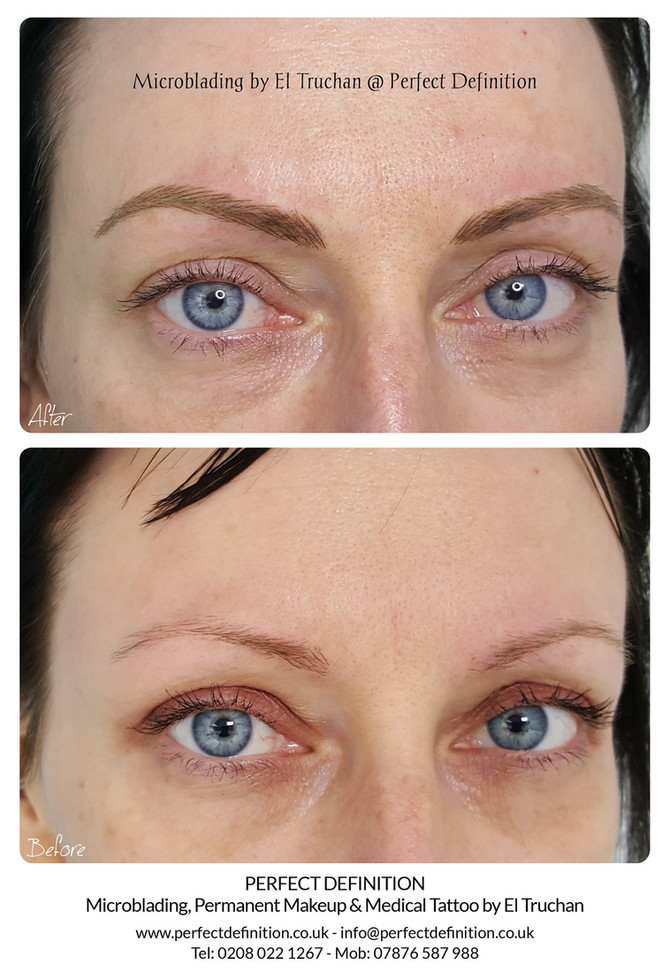 Microblading by El Truchan @ Perfect Definition