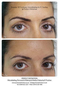 Bespoke 3D Eyebrows Microblading by El T
