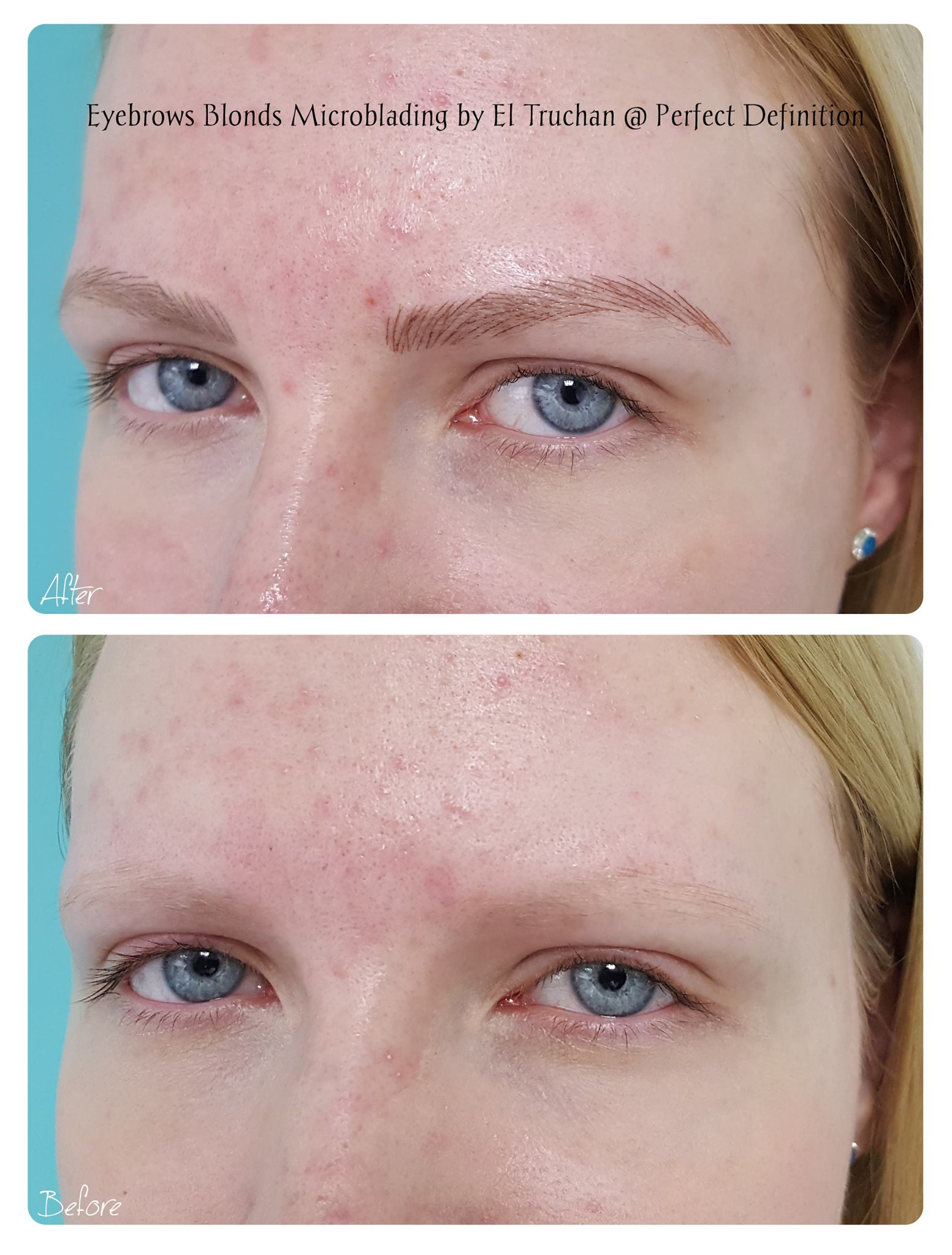 Eyebrows Blondes Microblading by El Truc