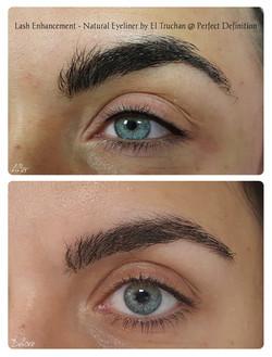 Lash Enhancement. Natural Eyeliner by El Truchan