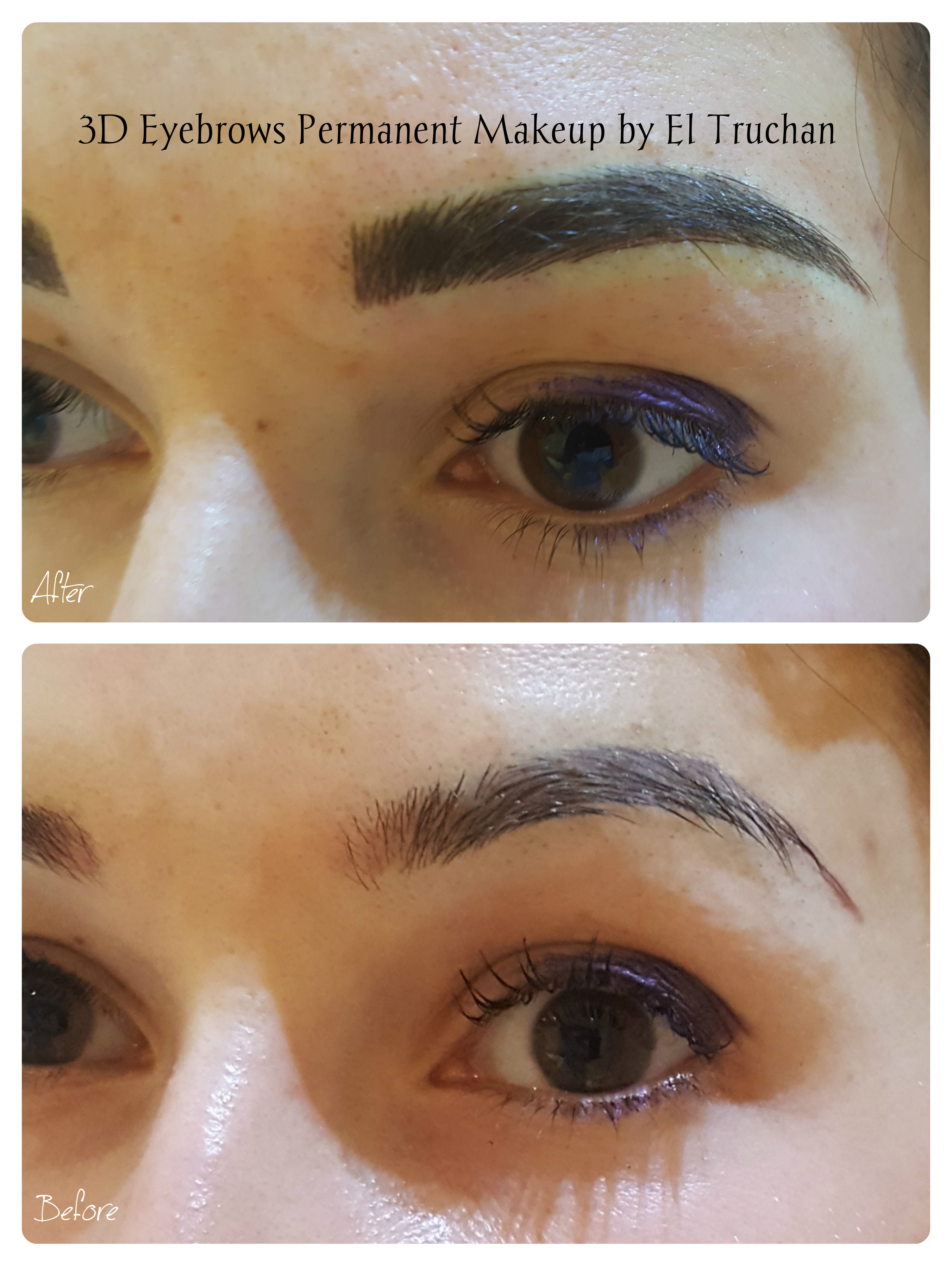 3d eyebrows pmu by el truchan UK
