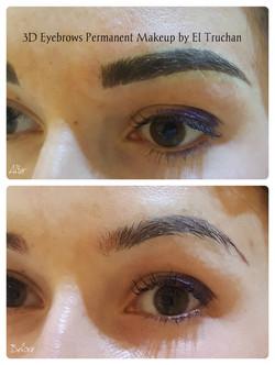 3d eyebrows pmu by el truchan UK