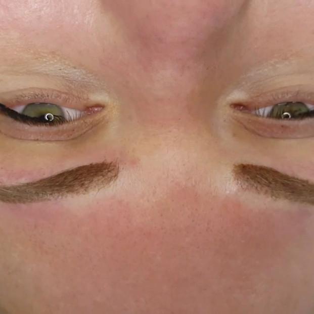 Ombre Powder Eyebrows Microshading by El Truchan
