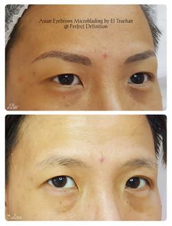 Asian Eyebrows Microblading by El Trucha