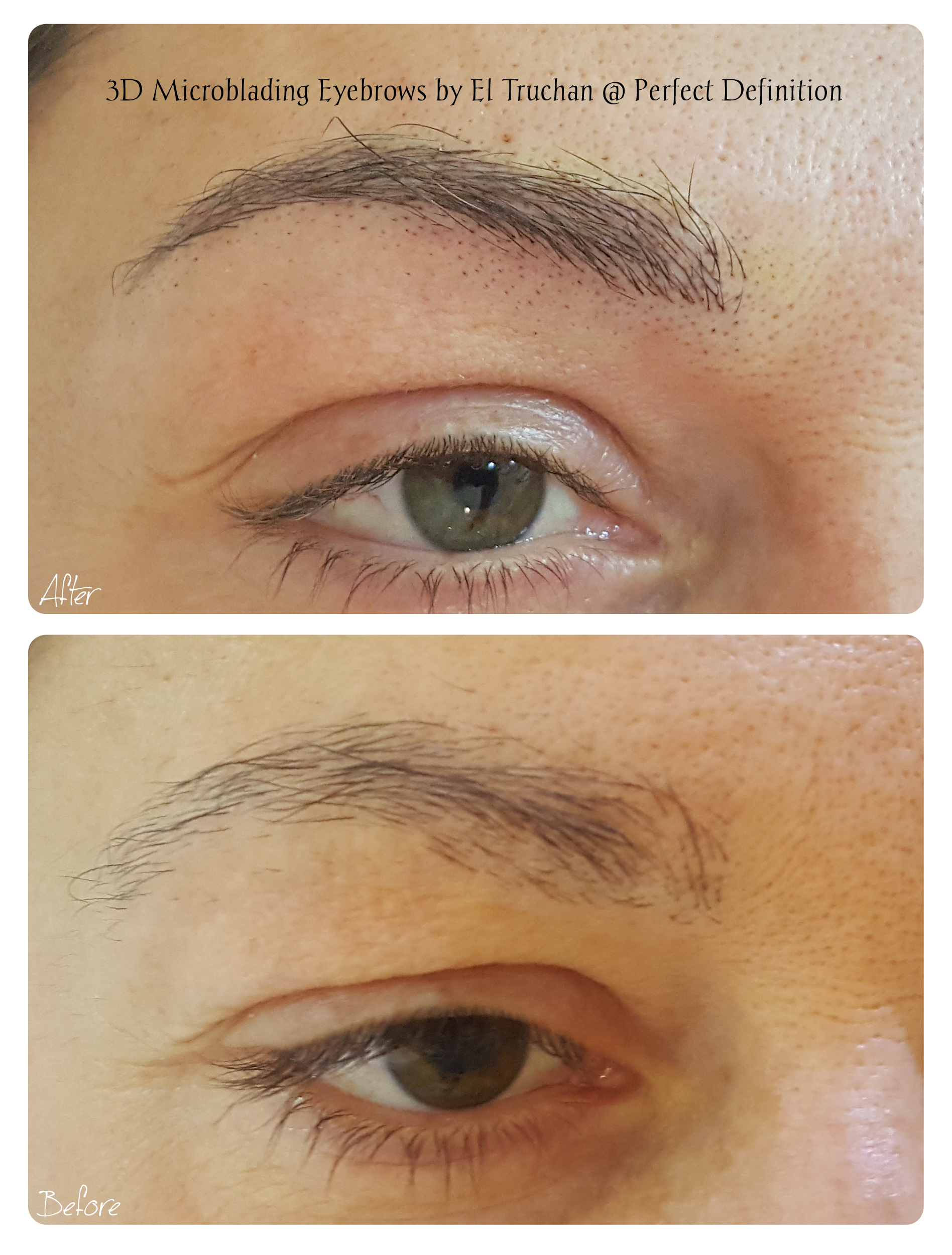 3D Microblading Eyebrows by El Truchan _