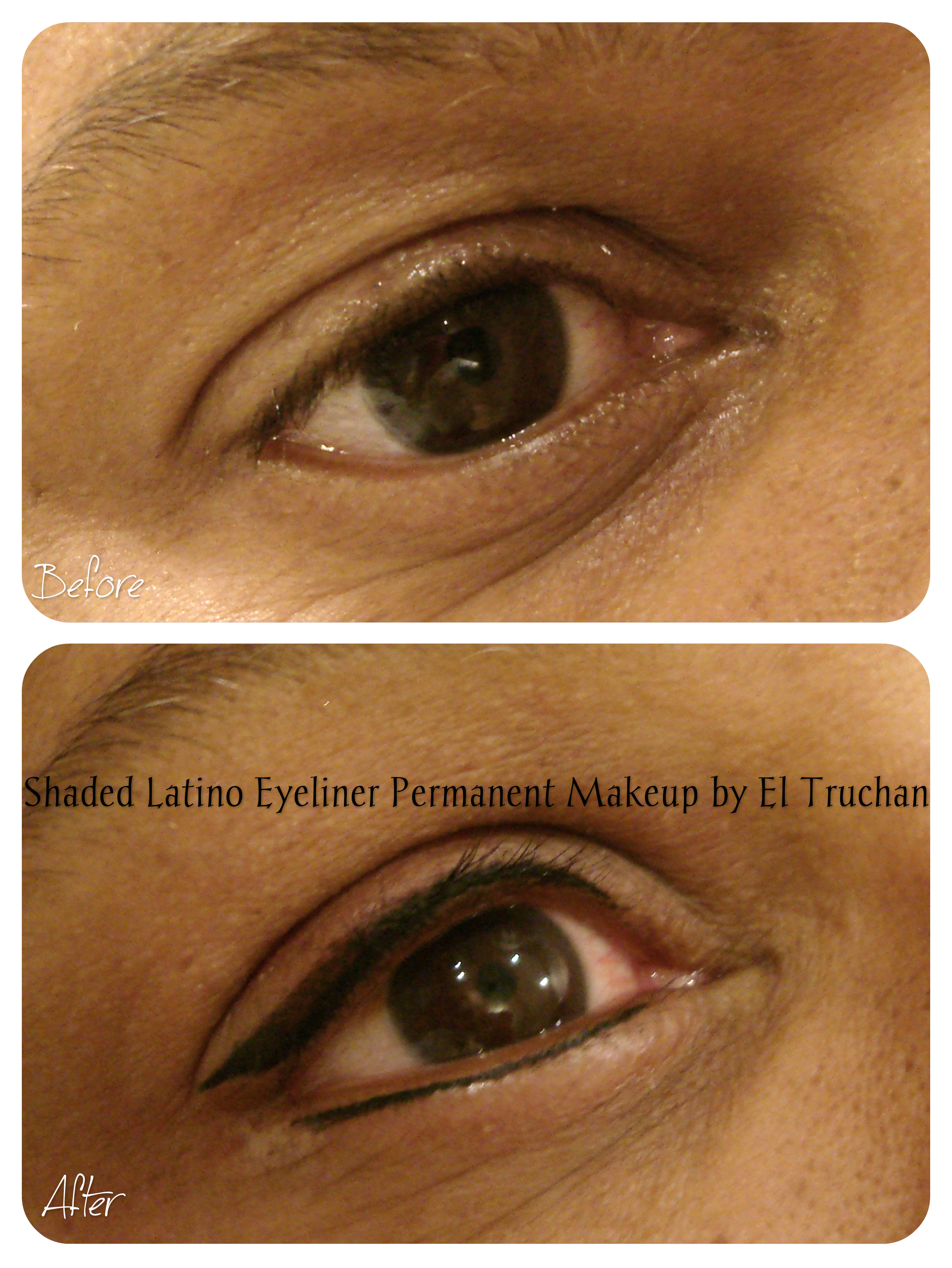 Shaded Latino eyeliner by El Truchan
