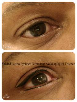 Shaded Latino eyeliner by El Truchan