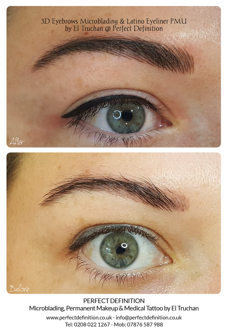 3D Eyebrows Microblading & Latino Eyelin