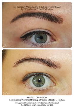 3D Eyebrows Microblading & Latino Eyelin