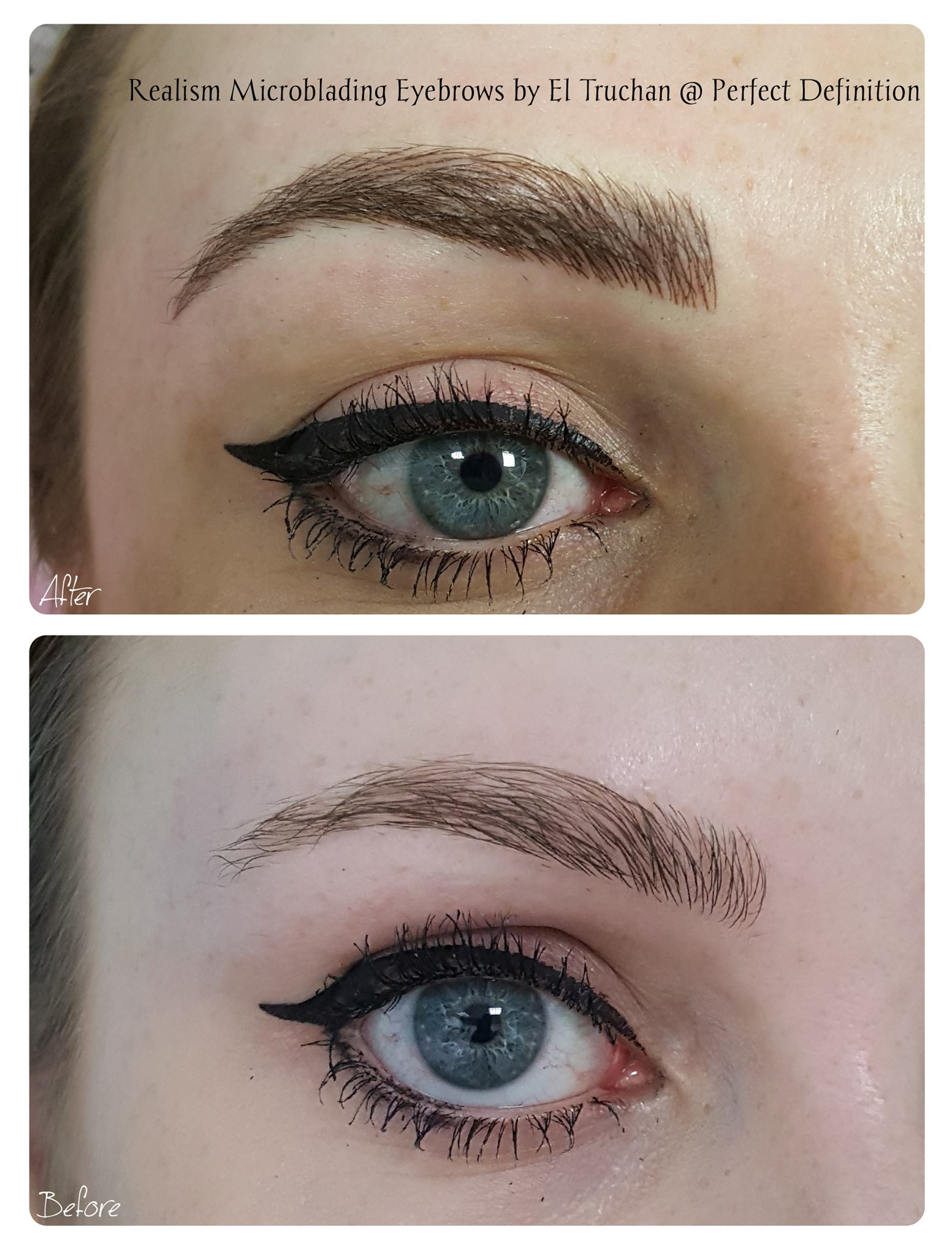 Realism Microblading Eyebrows by El Truchan
