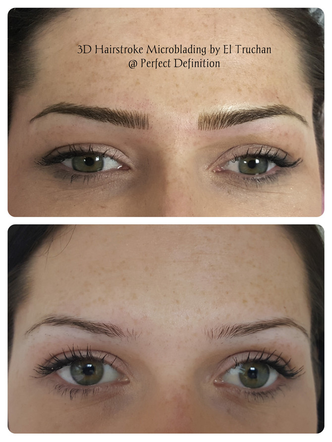 3d Hairstroke Microblading by El Truchan @ Perfect Definition