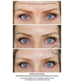 Healed Blond Advanced Realism Eyebrows a