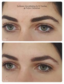 Density Eyebrows Microblading by El Truchan _ Perfect Definition 903
