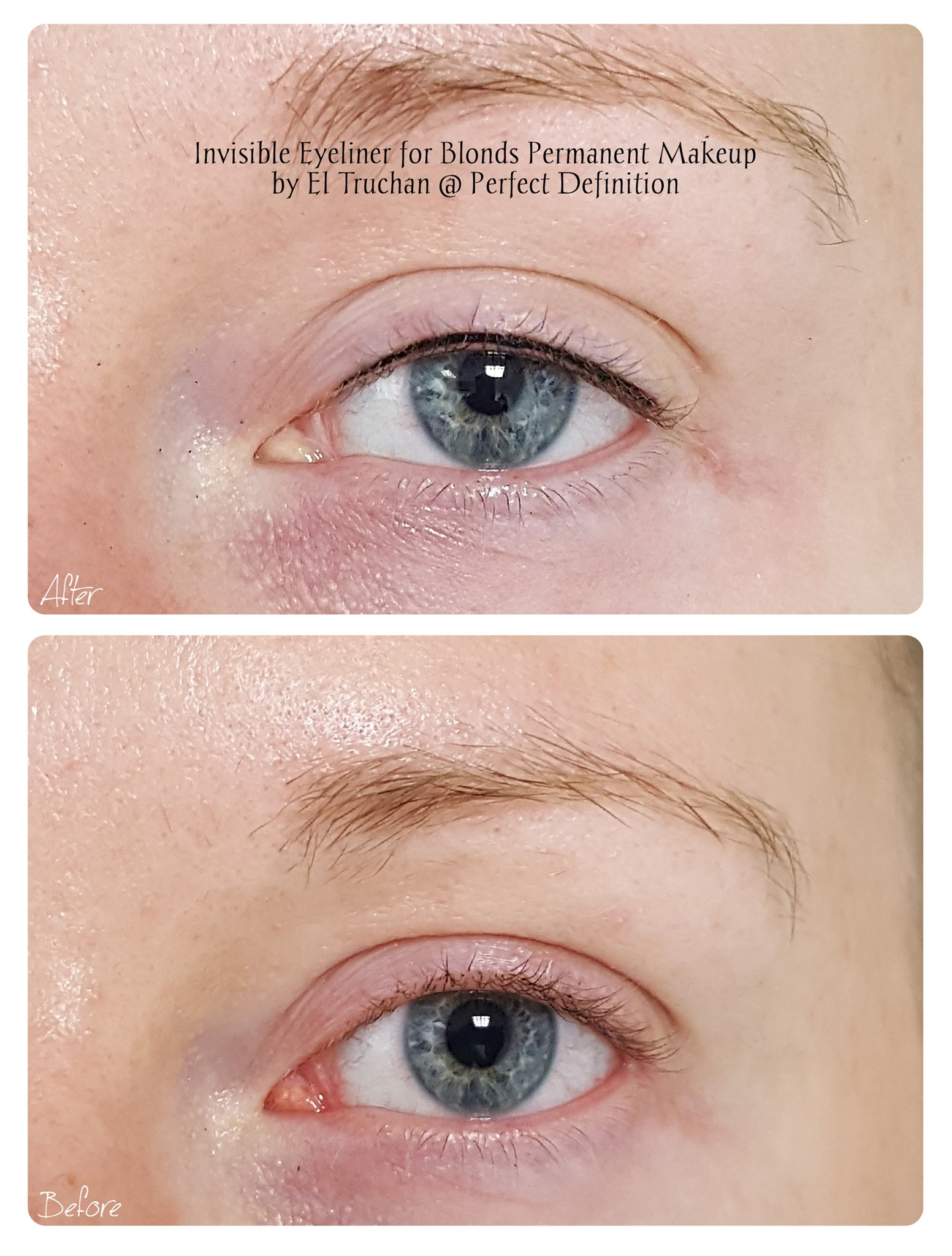 Invisible Eyeliner for Blondes Permanent