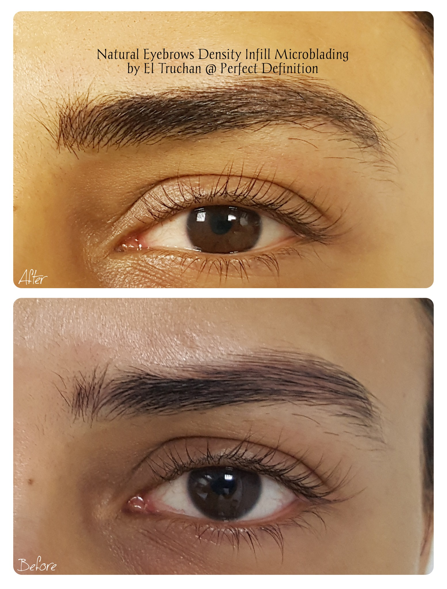 Natural Eyebrows Density Infill Microbla