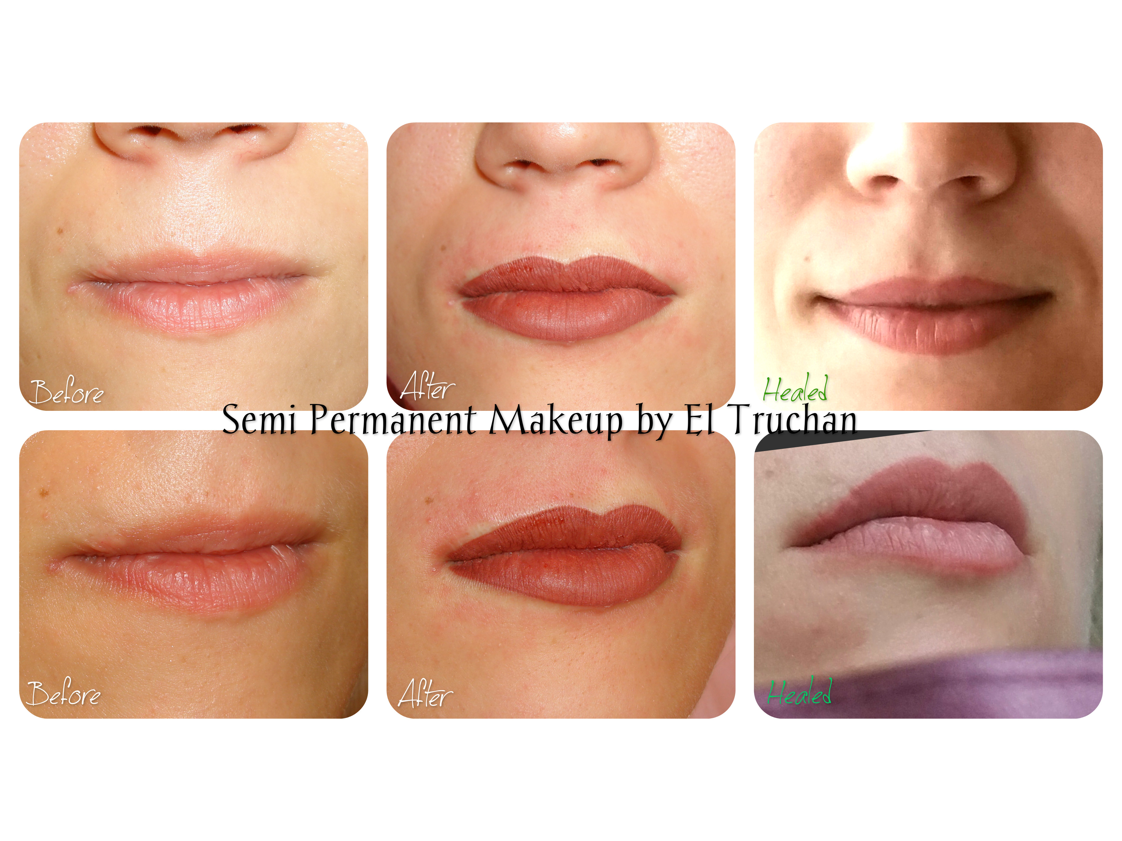 Semi Permanent Makeup by El Truchan Lip Scar