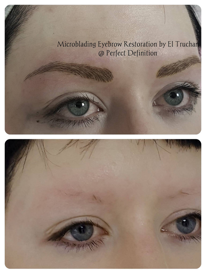Creating Microbladed Eyebrows at Perfect definition by El Truchan