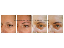Microblading by El Truchan Before - After - Healed -1 Retouch
