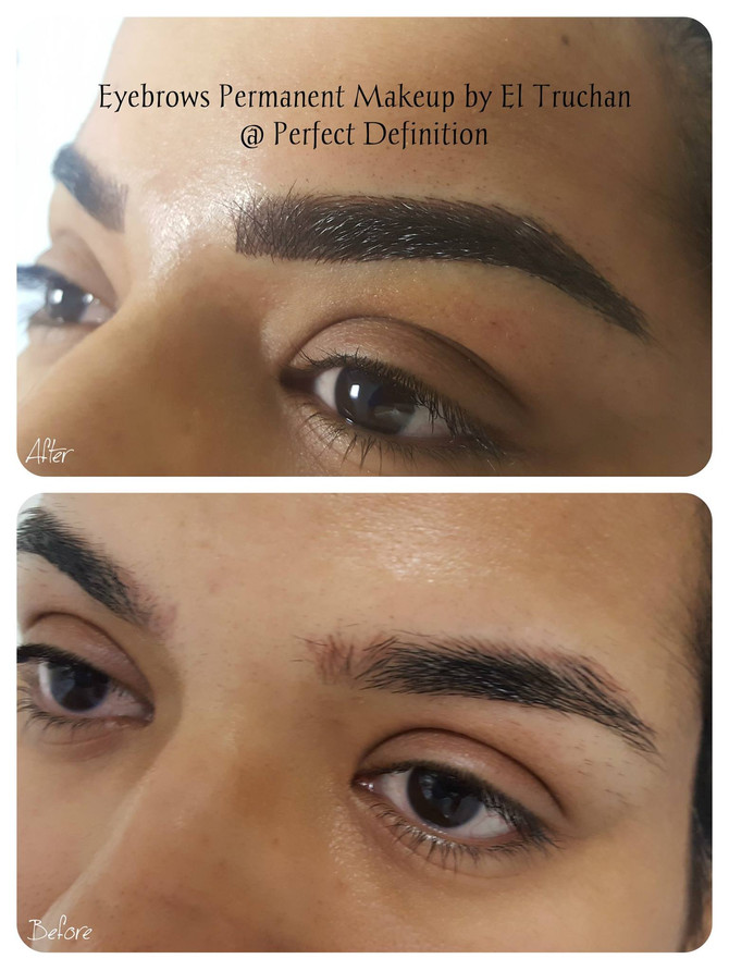 Permanent Eyebrow Makeup Hair by Hair style by El Truchan