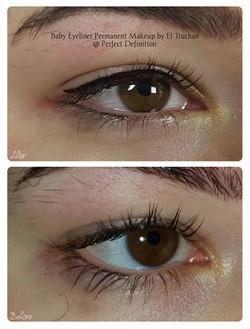 Baby Eyeliner Permanent Makeup by El Tru
