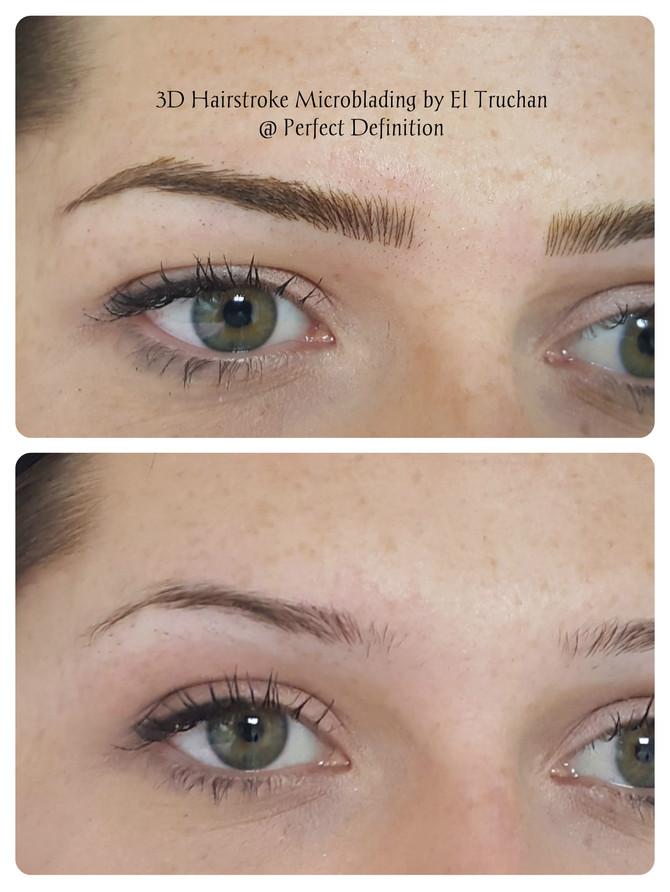 3D Hairstroke Microblading Eyebrows