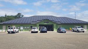 Solar Powe System at Saving Grace Pet Adoption Center