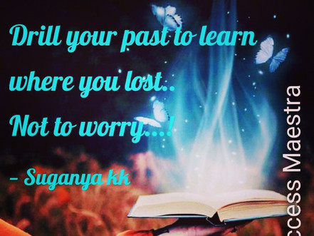 #1 best thing about past failures...