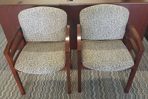 Mahogany Guest Chairs
