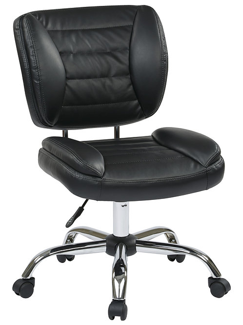 Faux Leather Task Chair